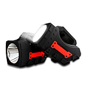 Luz llevada portable del yage llevó los proyectores que acamaban linterna 1pcs linterna handheld del proyector handheld de la luz del