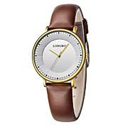 Reloj Deportivo Reloj de Vestir Reloj de Moda Reloj de Pulsera Reloj creativo único Chino Cuarzo Resistente al Agua Punk Piel Banda