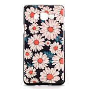 Para Carcasa Funda Diseños Cubierta Trasera Funda Flor Suave TPU para Samsung A7 A5