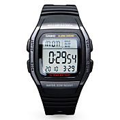 카시오 남성용 남성제품 스포츠 시계 패션 시계 디지털 시계 일본어 디지털 달력 방수 고무 밴드 캐쥬얼 블랙