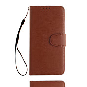 For Xiaomi Redmi Note 4 Card Holder Case Full Body Case Solid Color Soft PU Leather