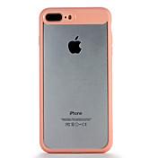 사과 iphone7 7 플러스 케이스 커버 투명 뒤 표지 케이스 솔리드 컬러 하드 pc 6s 플러스 6 플러스 6s 6