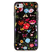 애플 iphone7에 대 한 경우 7 플러스 꽃 패턴 아이폰 6s 플러스 6 플러스 6s 6 하드 pc