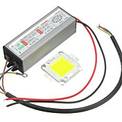 1pc 높은 전원 100w led 방수 드라이버 공급 smd 칩 전구