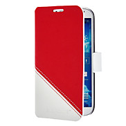 Color Matching PU Leather Case with Stand and Card Slot for Samsung Galaxy S4 I9500 (Assorted Colors)