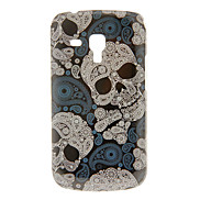 Vintage Skull Pattern Hard Case for Samsung Galaxy Trend Duos S7562