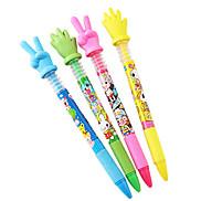 Interesting Gesture Fingers Ballpoint Pen(Random Color)