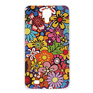 Colorful and Lovely Flower Pattern Hard Case for Samsung Galaxy Mega 6.3 I9200