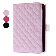 Solid Color Soft Grids Pattern Case for iPad mini 3, iPad mini 2, iPad mini (Optional Colors)