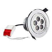 6.5W 420LM 2700K Warm White LED Ceiling Bulb (100-240V)