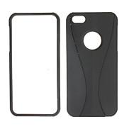 Solid Color Goblet Pattern Detachale Hard Case for iPhone 5/5S