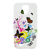 Colorful Butterflies And Cirrus Pattern Soft Case for Samsung Galaxy S4 I9500