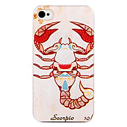 Indian Scorpio Back Case for iPhone 4/4S