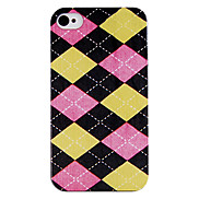 Simple Grid Back Case for iPhone 4/4S