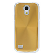 Metallic Back with Transparent Edge Hard Back Cover Case for Samsung Galaxy S4 Mini I9190