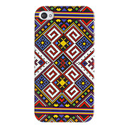 Ethnic Woven Pattern Hard Case for iPhone 4/4S