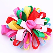 Multi-colored Sweet Cloth Barrettes