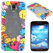 Happy People Pattern PC Hard Case for Samsung S4 I9500