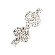 Rosette-Shaped Metal Hairpin (1Pc)