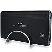 SSK  HE-G130 3.5 Inch Black Usb3 Sata External Hard Drive