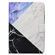 For Samsung Galaxy T560 T530  Case Cover  Marble Pattern PU Material Three Fold Flat Computer Shell Phone Case T550 T580 T350 T280  T330