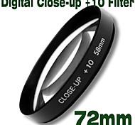 emolux 72mm close up (+10) filtro (smq5590)