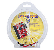 SATA HDD to 40-Pin IDE Master/Slave with Power Adapter Cable 0.18M