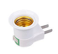 US Plug AC Power to E27 LED Bulbs Socket Adapter (110-240V)