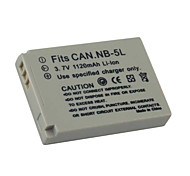Replacement Digital Camera Battery NB-5L/NB-5LH for CACON Digital XUS800/ IXUS90(09370140)