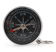 Portable Metal Compass with Keychain (Small)