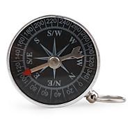 bússola de metal portátil com keychain (pequena)