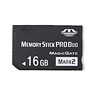 16GB Memory Stick PRO DuoMax Read SpeedMinimum of 32MB/sec (MB/S)Max Write SpeedMinimum of 32MB/sec (MB/S)