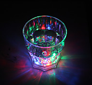Colorido Vaso de Luces LED de Whisky