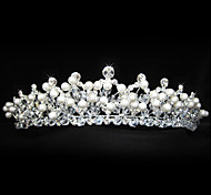 Women's Alloy/Imitation Pearl Headpiece - Wedding/Special Occasion Tiaras