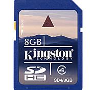 kingston 8gb class cartão de memória SDHC de 4