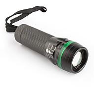 MXDL 3W LED 3-mode Focus Flashlight 3XAAA Black&Green