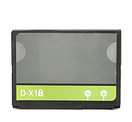1400mAh substituição de baterias de telefone celular d-x1 para a amora 8900/9500/9520/9530/9630