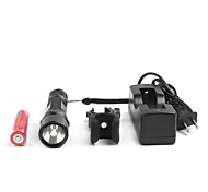 m2 cree R5 LED Taschenlampe Fahrrad-Set 5-Modus schwarz
