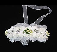 Для девочек Тюль Бумага Заставка-Свадьба Особые случаи На каждый день Ободки