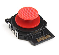 3d reemplazo del joystick analógico rockero para psp 2000 (rojo)