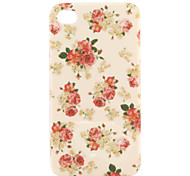Case Floral para iPhone 4