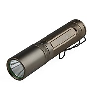 akoray k-106 5-mode cree xr-e q5 lanterna LED (230lm, 1x14500, marrom)