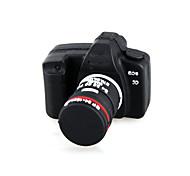 Unidad flash USB de 16 GB estilo de la cámara (negro)