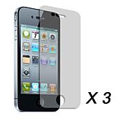 Film de Protection pour iPhone 4 (3 pièces)