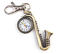 Stainless Steel Keychain Watch