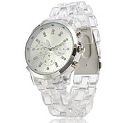 Plastic Band Quartz Wrist Watch For Women Cool Watches Unique Watches