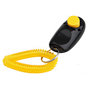 Training Clickers Portable Black Plastic