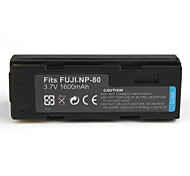 1600mAh Camera Battery NP-80 for Fujifilm FINEPIX 4800 ZOOM and More