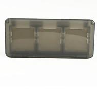 de protección de 6 casos carrito cartucho de juego para NDS / DS Lite / DSi (negro)