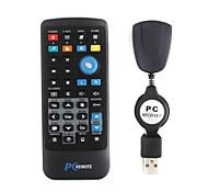multimídia com controle remoto IR usb receptor para pc (1 * CR2025)
